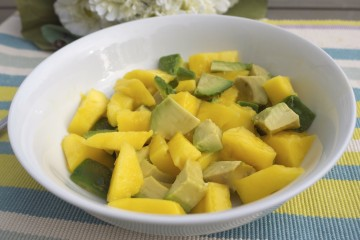 Mango and Avo salad