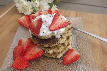 Protein-Packed Banana and Quinoa Griddle Cakes