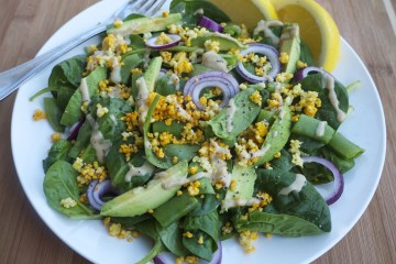 Spinach and Millet Superfood Salad