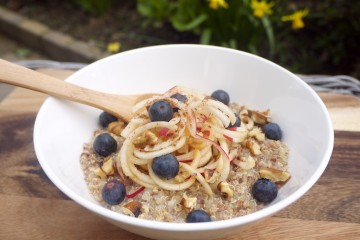 Apple, Ginger and Cinnamon Immunity Porridge